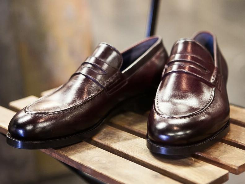 Реставрация мужской обуви