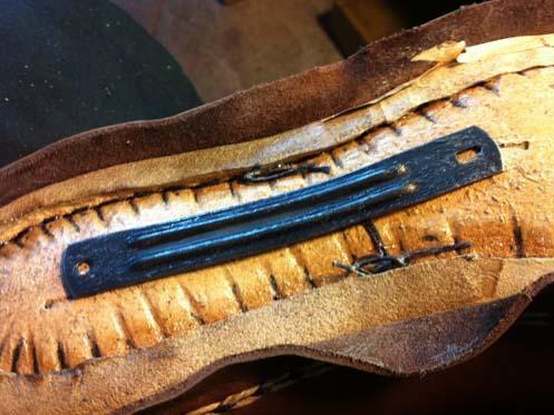 замена супинатора в мужской обуви